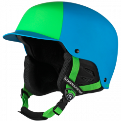 Шлем LosRaketos Spark neon green blue 54049/54050